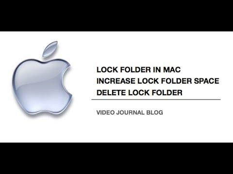 Lock folder in Mac, increase/ reduce folder size - Disk Image