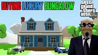 BUYING LUXURY BUNGALOW | Sasti GTA V | GTA V | Tecnoji Gamer