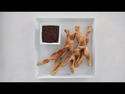 Easy Baked Churros- Sweet Talk with Lindsay Strand