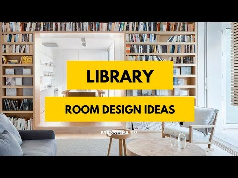 100+ Awesome Library Room Design Ideas from Pinterest