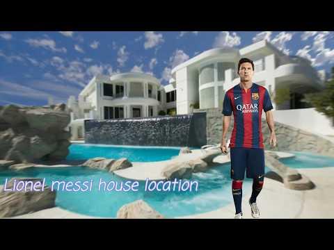 Lionel messi house location ¦Google earth 2017