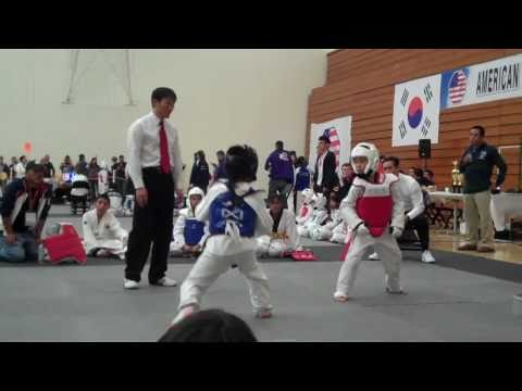9 Year Old Kid Sparring Tournament
