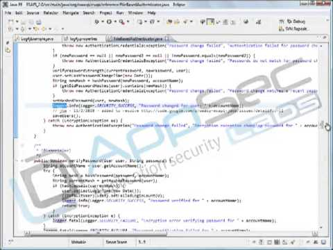 Java Secure Coding: Security Logging 9 2 Real Logging Example