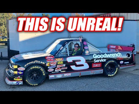 I BOUGHT A LEGIT FREAKING NASCAR TRUCK!!!