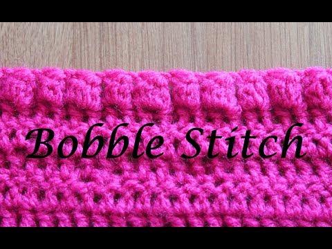 Bobble Stitch - Crochet Lesson #10