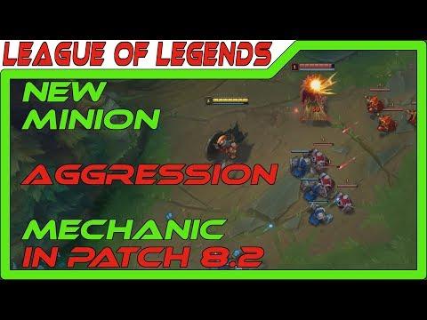 Minion Aggression Change - New Core Mechanic! - Patch 8.2 - League of Legends