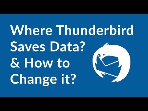 Thunderbird Mail Location - How to Change Thunderbird Data Storage Location