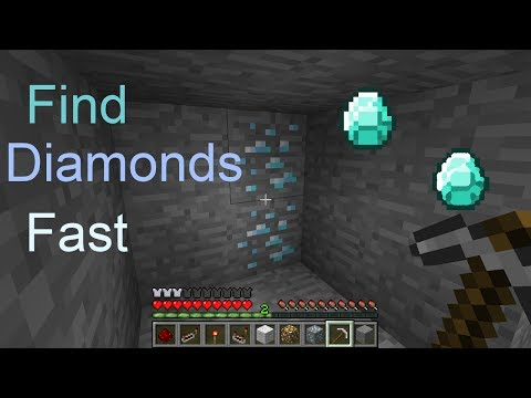 THE FASTEST WAY TO FIND DIAMONDS