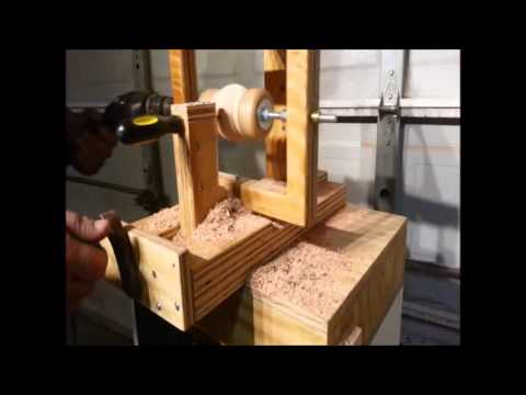 SIMPLE JIG! Wood Sphere With A Screw Driver!
