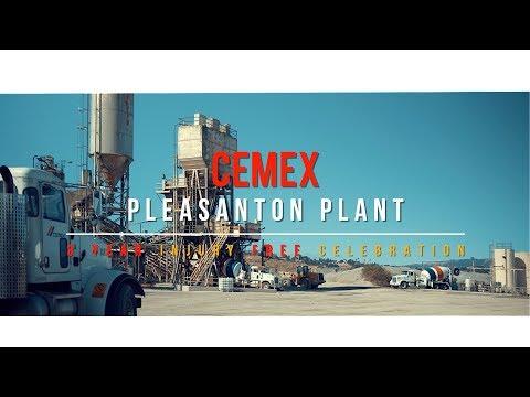Cemex Pleasanton 3 Year Injury Free Celebration