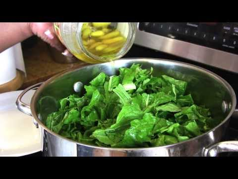 Holiday Series: Turnip Greens w/ Turnips & Ham Hocks |Cooking With Carolyn|