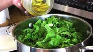 Holiday Series Turnip Greens W Turnips Ham Hocks Cooking With Carolyn