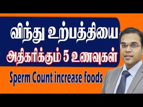 விந்து உற்பத்தி இயற்கையாக  அதிகரிக்கும் 5  உணவுகள் Sperm Count Increase Foods in Tamil