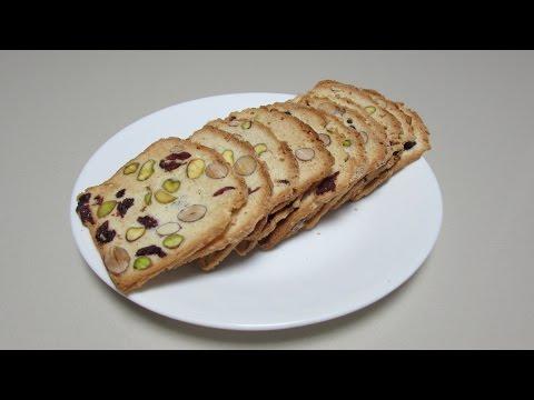 杏仁乾果脆餅Cranberry Almond Biscotti