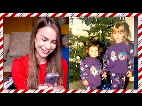 Going through my 90's childhood Christmas photos! Vlogmas Day 22