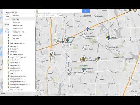 HOW TO: make a copy of a Google map