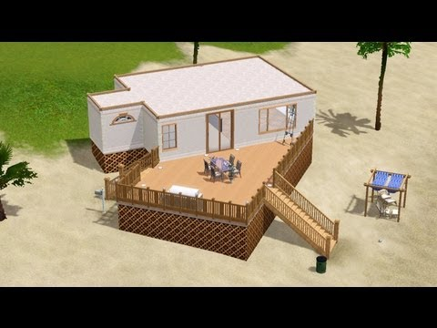 The Sims 3 - Lets Build: Small Beach House