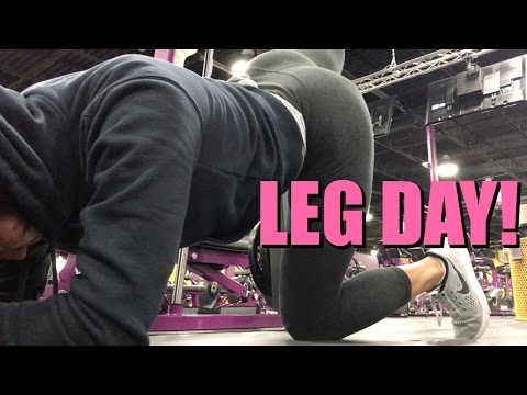 5 A.M CAMEL TOE & FULL LEG DAY WORKOUT | ITSJUSTKELLI