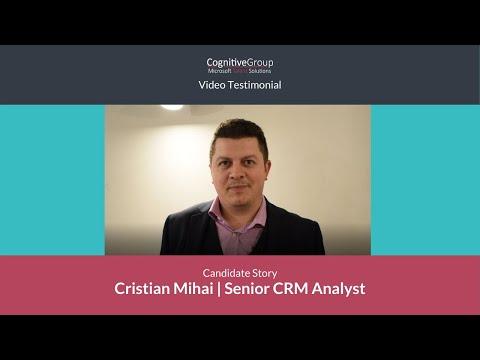 Microsoft Talent Solutions    Cristian Mihai's Story