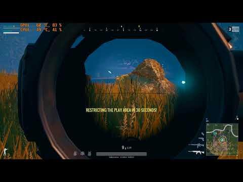 PLAYERUNKNOWN'S BATTLEGROUNDS: End of match | Shot with GeForce GTX