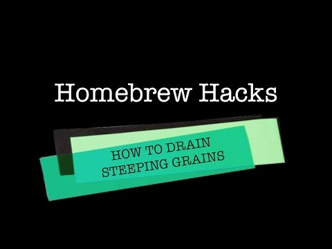 Homebrew Hack #2 - Grain Drain