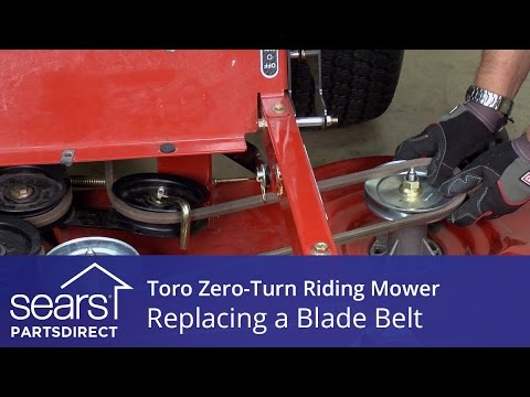 How to Replace a Toro Zero-Turn Riding Mower Blade Belt