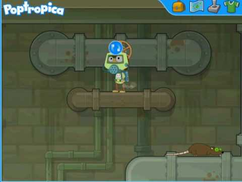 How to defeat RatMan on poptropica