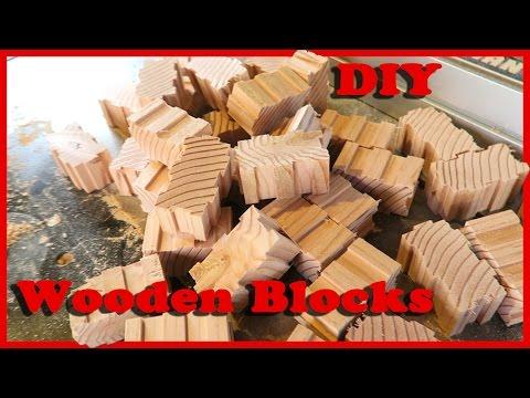 Making Interlocking Wooden Toy Blocks | Part 2