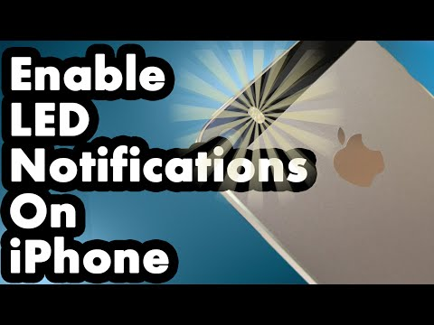 Get LED Notifications For Phone Calls and Text Messages On iPhone