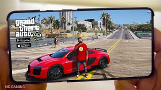 🔥TOP 5🔥 Android Games Like GTA 5    Free Offline Android&IOS Games Like GTA 5【MD】