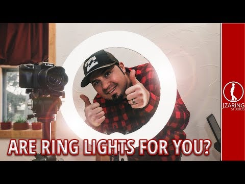 LED Ring Light, should you buy one? Testing the Neewer RL-18 (Full Review)