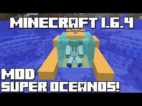 Minecraft 1.6.4 MOD SUPER OCEANOS!