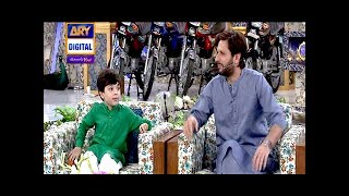 Shahid Afridi & Pehlaaj-Ul-Hassan join us in Today