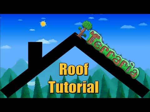 Terraria | Roof Building Tutorial