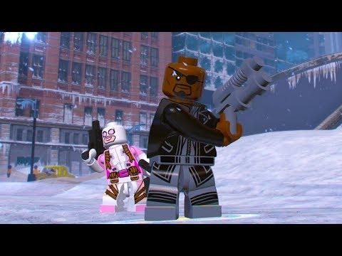 LEGO Marvel Super Heroes 2 Nick Fury Unlock Location + Free Roam Gameplay