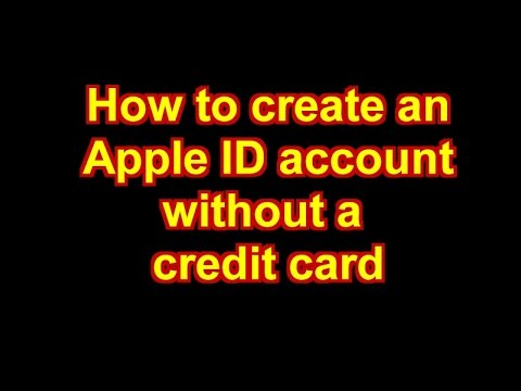 How to create an iTunes Store / Apple ID Account without a credit card - March 2015