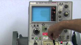 Transistor Testing Using a 576 Tektronix Curve Tracer by