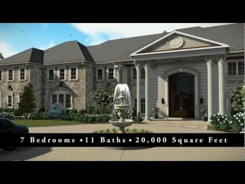 McLean VA Estate Property Landscape Design and Video Animation
