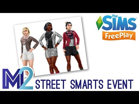 Sims FreePlay - Street Smarts Event (Tutorial & Walkthrough)