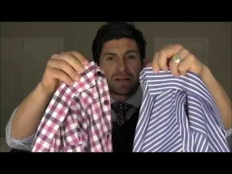 Men's Dress Shirt Collar Options  Selecting the Right Collar