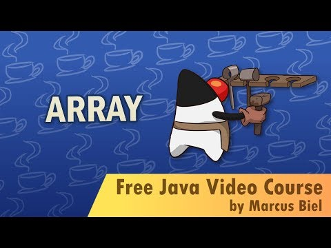 Java for Beginners 10 -  arrays and enums