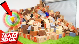 Find the Prize in the Pile of 1,000 Boxes!!