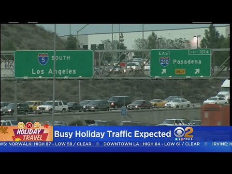 5 Freeway Expected To Be Traffic Hot Spot During Holiday Getaway