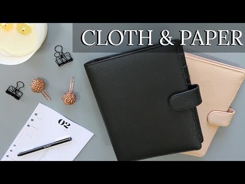 CLOTH AND PAPER PLANNER HAUL   INSERTS, ACCESSORIES & MORE!