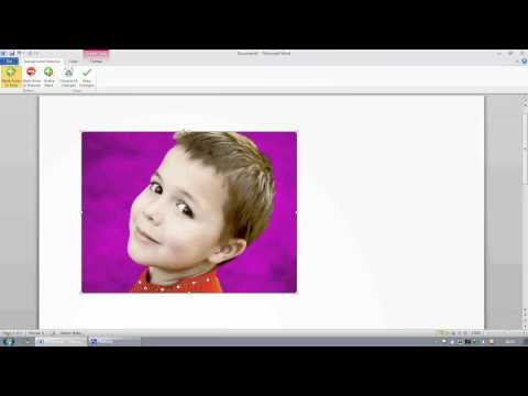 Delete background from your photos using Microsoft Office 2010