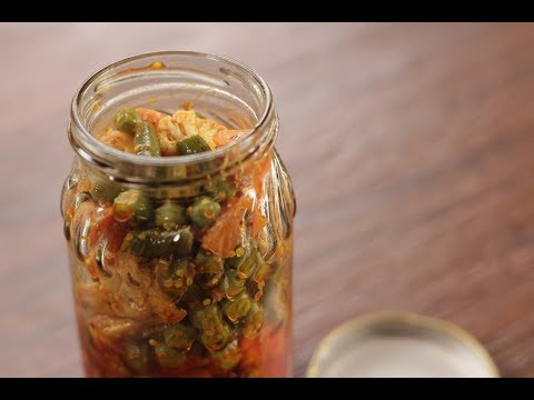 Mixed Vegetable Pickle | Papads and Pickles | Sanjeev Kapoor Khazana