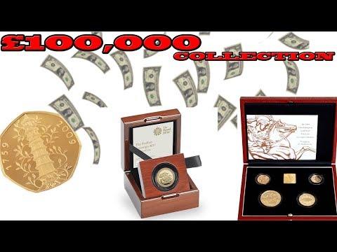 £100,000 COIN COLLECTION!!