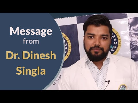 Study Abroad | Lincoln American University - Message from Dr. Dinesh Singla.
