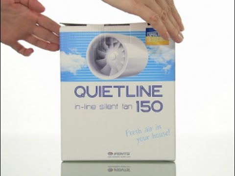 VENTS Quietline 150: a new silent duct fan