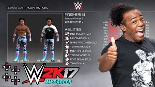 Picking the best Austin Creed creations! — WWE 2K17 MyCareer #1
